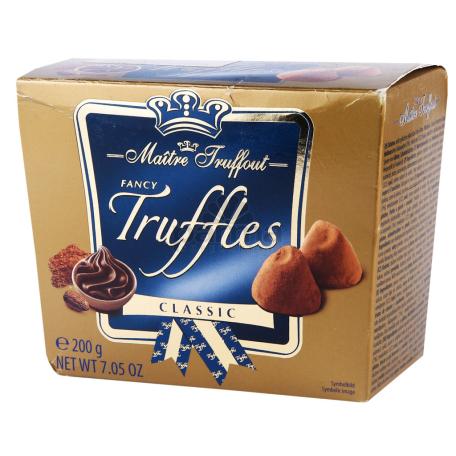 Տրուֆել «Maitre Truffout» դասական 200գ