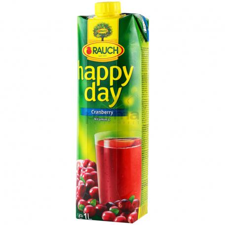 Հյութ բնական «Happy Day» լոռամիրգ 1լ