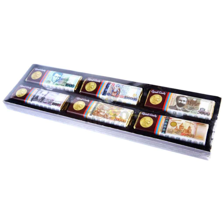 Շոկոլադե սալիկ «Գրանդ Քենդի» Հայկական Դրամ 180գ
