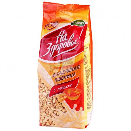 Փքված ցորեն «На Здоровье» մեղրով 175գ