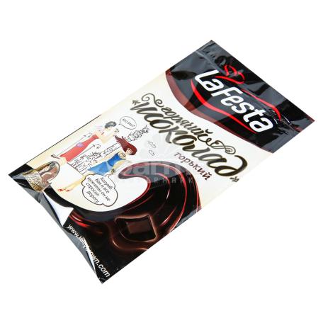 Տաք շոկոլադ «La Festa» դառը 22գ