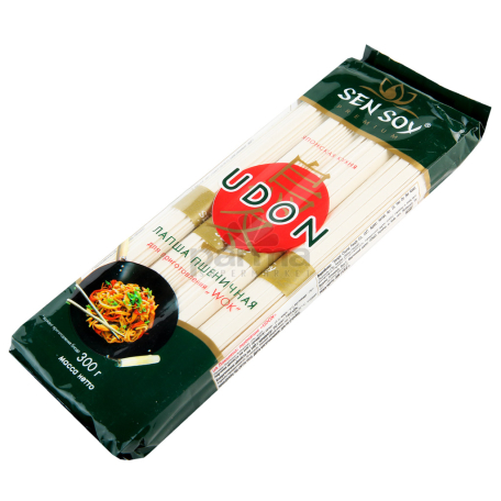 Ցորենի լապշա «Сэн Сой Премиум Udon» 300գ