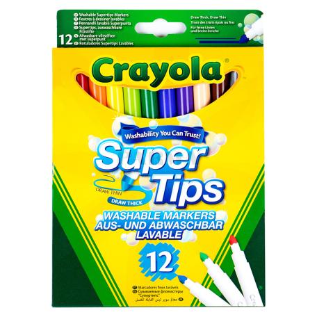 Ֆլոմաստեր «Crayola» 12 գույն