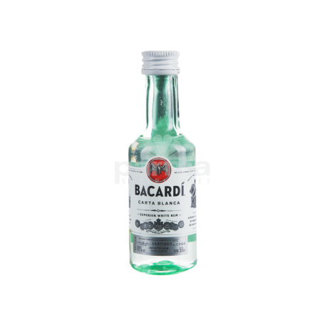 Ռոմ «Bacardi Carta Blanca» 50մլ
