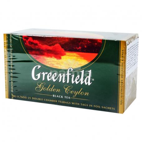 Թեյ «Greenfield Golden Ceylon» 50գ