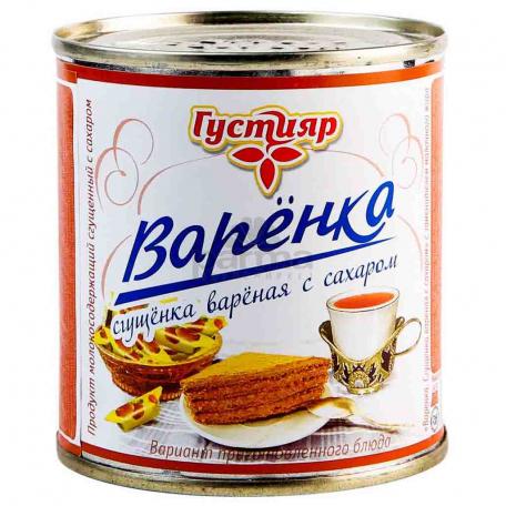 Խտացրած կաթ «Густияр» 8.5% 370գ