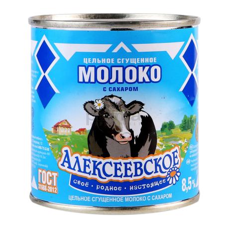 Խտացրած կաթ «Алексеевское» 8.5% 380գ