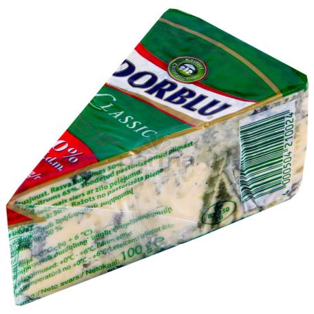 Сыр с плесенью `Dorblu` 100г