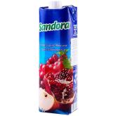 Հյութ բնական «Sandora Mix» խաղող, խնձոր, նուռ 1լ