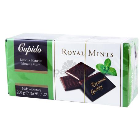 Շոկոլադե սալիկներ «Cupido Royal mints» 200գ