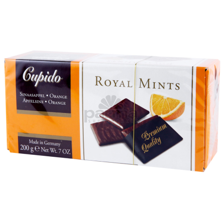 Շոկոլադե սալիկներ «Cupido Royal orange mints» 200գ