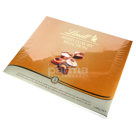 Շոկոլադե կոնֆետներ «Lindt Swiss Luxury» 445գ