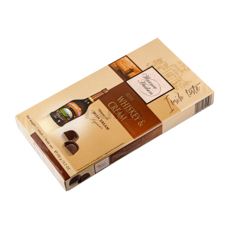 Շոկոլադե կոնֆետներ «Warner Hudson» իռլանդական վիսկիով, սերուցքով 150գ