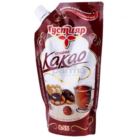 Խտացրած կաթ «Густияр» կակաո 1% 270գ