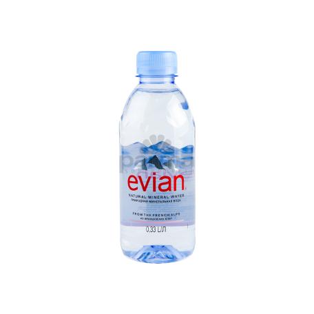 Աղբյուրի ջուր «Evian» 330մլ