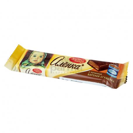 Շոկոլադե բատոն «Аленка» խտացրած կաթով 48գ