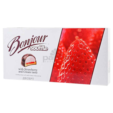 Կոնֆետներ «Bonjour Strawberry Cream» 232գ