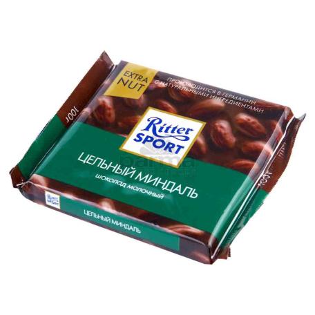 Շոկոլադե սալիկ «Ritter Sport» նուշ 100գ