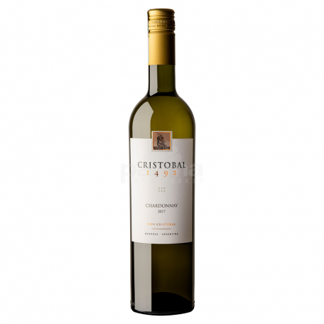 Գինի «Cristobal Chardonnay» սպիտակ, չոր 750մլ