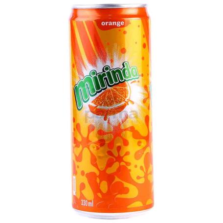 Զովացուցիչ ըմպելիք «Mirinda» նարինջ 330մլ