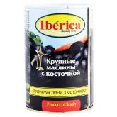 Ձիթապտուղ «Iberica» սև 420գ