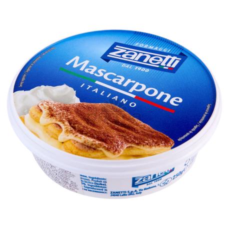 Պանիր «Zanetti Mascarpone» 250գ