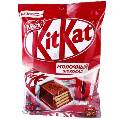 Շոկոլադե կոնֆետներ «KitKat Mini» 169գ