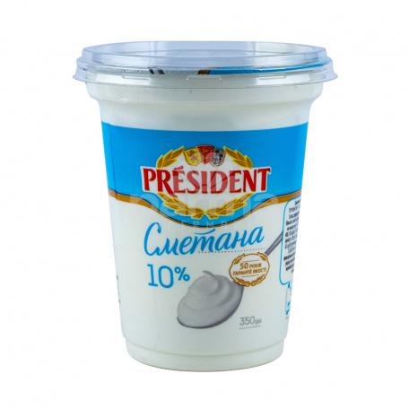 Թթվասեր «President» 10% 350գ