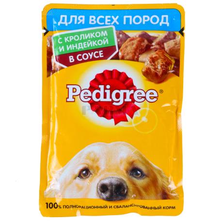 Շան խոնավ կեր «Pedigree» ճագար, հնդկահավ 100գ