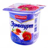 Յոգուրտային արտադրանք «Ehrmann Эрмигурт» 7.5% 115գ