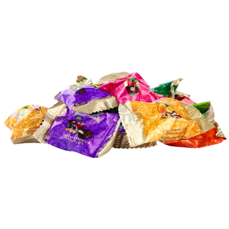 Կոնֆետներ «Գրանդ Քենդի» շոկոլադապատ չրային ասորտի