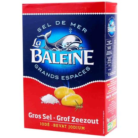 Աղ ծովի «Baleine» խոշոր 1կգ