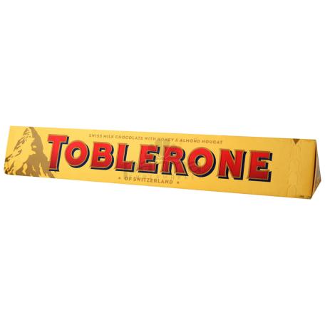 Շոկոլադե սալիկ «Toblerone» մեղրով, նուշի նուգայով 50գ