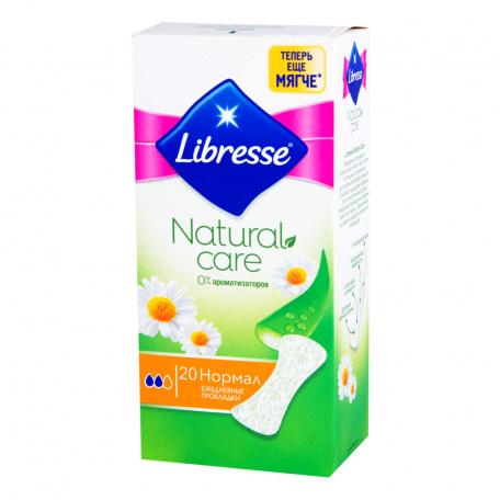Ամենօրյա միջադիրներ «Libresse Natural Care»