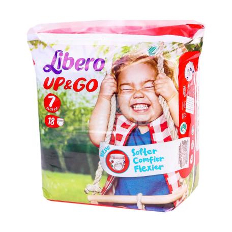 Վարտիք-տակդիրներ «Libero» 16-26կգ