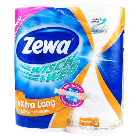Թղթե սրբիչ «Zewa Wisch & Weg» 2 hատ