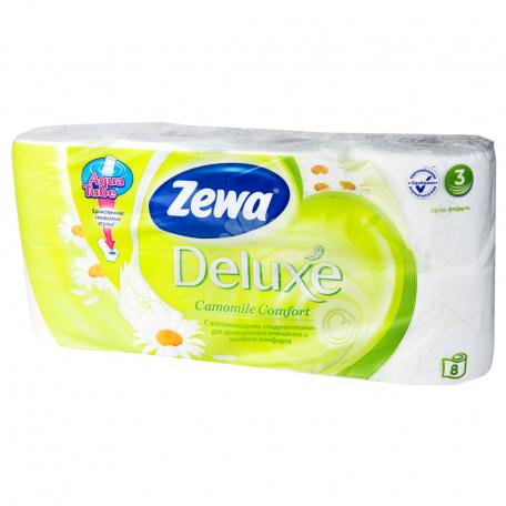 Զուգարանի թուղթ «Zewa Deluxe» 8 հատ