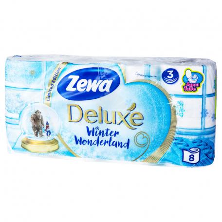 Զուգարանի թուղթ «Zewa Deluxe Pure White» 8 հատ