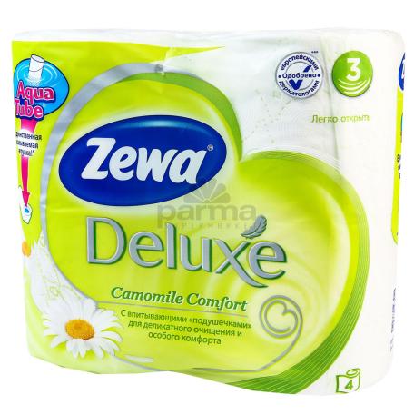 Զուգարանի թուղթ «Zewa» 4 հատ
