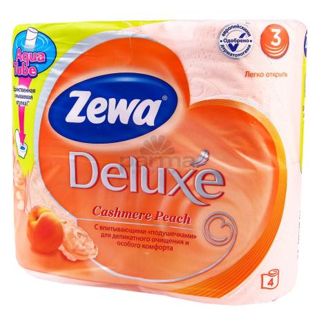 Զուգարանի թուղթ «Zewa Deluxe Peach» 4 հատ