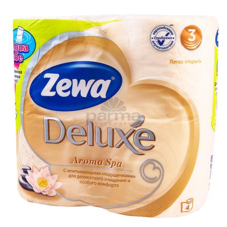 Զուգարանի թուղթ «Zewa Deluxe Aroma Spa» 4 հատ