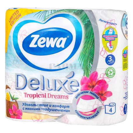 Զուգարանի թուղթ «Zewa Deluxe Tropical Dreams» 4 հատ