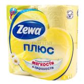 Զուգարանի թուղթ «Zewa Plus» 4 հատ