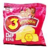 Չորահաց «3 Корочки» պանիր 80գ