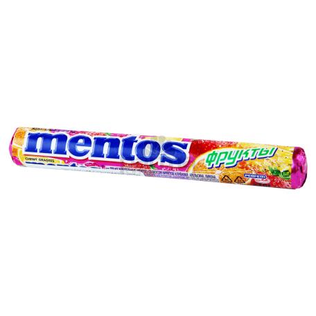 Սառնաշաքար «Mentos» մրգային 37գ