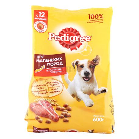 Շան խոնավ կեր «Pedigree» տավարի մսով 600գ