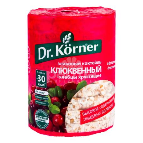 Հացիկ «Dr. Körner» հացահատիկ, լոռամիրգ 100գ