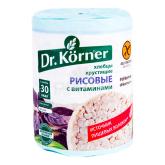 Հացիկ «Dr. Körner» բրինձ, վիտամին 100գ
