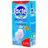 Կաթ «Lactel Vitamin D» 3.2% 1լ