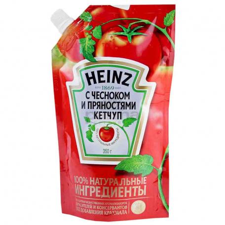 Կետչուպ «Heinz» սխտորով և համոմունքներով 350գ